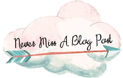 Never Miss A Blog Post